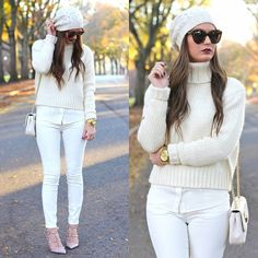 <wearing all winter white on forallthingslovely.com tomorrow> shop outfit details early by signing up for @liketoknow.it: www.liketk.it/GmOw or head to the blog for outfit links tomorrow! #fashionblogger #whatiwore #ootdmagazine #styleblogger #liketkit #forallthingslovely ❄️