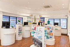 Pharmacie Raphael - Apotheke auf der Fressgass, Frankfurt - Planungsbüro: Atelier Erich R. Büdenbender