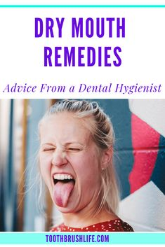 Dry mouth remedies and how to get rid of dry mouth. Causes of dry mouth. Dry mouth at night and dry mouth cures. Dental Hygienist, Dental Care, Remedies For Dry Mouth, Mouth Problems, Small Intestine Bacterial Overgrowth, Bad Breath Remedy, Persistent Cough, How To Prevent Cavities, Oral Health