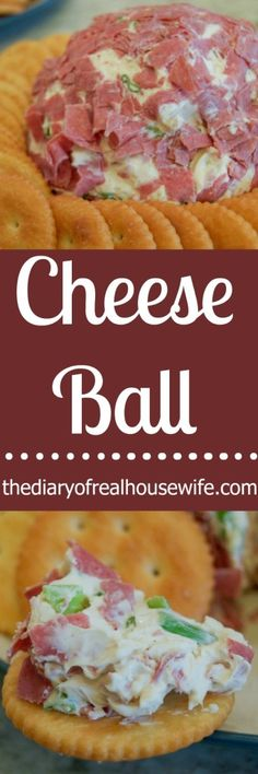 The Best Cheese Ball! This is the recipe my mom has made for years! We all just love it.