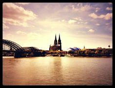 Am Rhein in Köln
