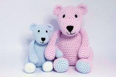 Szív és Varrni: The Three Bears - Ingyenes Horgolt / Pattern Amigurumi