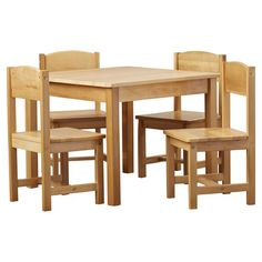Found it at Wayfair - Farmhouse Kids 5 Piece Table & Chair Set