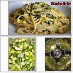 Le ricette di Valentina & Bimby: CARBONARA DI ZUCCHINE NEL BIMBY