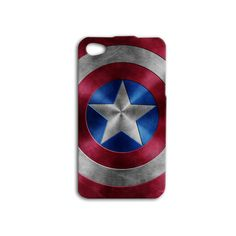 Hey, I found this really awesome Etsy listing at https://www.etsy.com/listing/185146294/captain-america-shield-iphone-case-cute