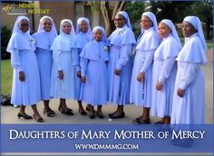 Daughters of Mary Mother of Mercy ~Sharing the merciful love of God.  #membermonday cmswr.org