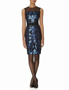 Sequin Scroll Sheath Dress from THELIMITED.comI have found my perect holiday party dress!  Woohoo!!!