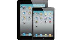 O iPad e um mock-up do suposto iPad Mini (Foto: Reprodução/9to5Mac