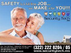 ¡SAFETY is a full time JOB, we MAKE it for YOU! ¡La seguridad es un trabajo de tiempo completo, nosotros lo hacemos por usted!. Para más información, visíta el Sitio Oficial www.securitytech.mx | #securitytech  Encuéntralos en Connection Plaza | www.connectionplaza.com.mx #connectionplaza