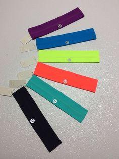 Lululemon Fly Away Tamer Headband New *choose your color* FREE SHIP to USA #Lululemon