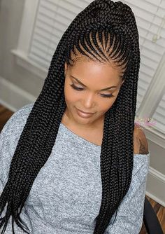 96587 Best Box Braids Images In 2020 Hair Styles