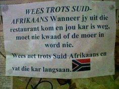 and the joke that is today's South Africa. African Jokes, Afrikaanse Quotes, Love Life, My Love, Laugh At Yourself, Twisted Humor, Childhood Memories, South Africa, Funny Quotes