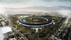 Apple's new spaceship campus in Cupertino that Steve Jobs presented to the city in 2011 is seeing delays and won't open until 2016 now Apple Campus 2, Steve Jobs, Steve Wozniak, Norman Foster, Sede Da Apple, Apple Headquarters, Iphone 7, Foster Partners, Arquitetura