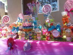 Candy Vixen Custom Candyland Candy Buffet www.CandyVixen.com