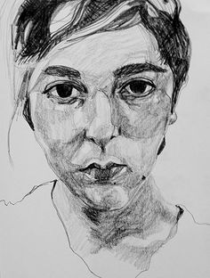 Charvelby by Maureen Nathan. Pencil portrait