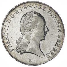 KRONENTALER 1797 B RDR HAUS ÖSTERREICH  FRANZ II. 1792 - 1806