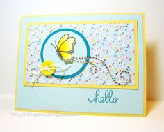 Inking Aloud: Paper Smooches SPARKS April Trend Watch Challenge