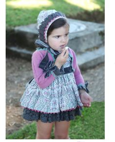 La Martinica. Classy gorgeous clothes for kids. I just bought that dress for my daughter :)  mi hija Claudia ya lo tiene :)))