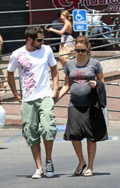 Cash warren and Jessica alba pregnant