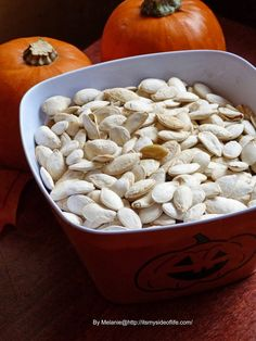 My Side of Life: Halloween Challenge Day 4: Roasted Pumpkin Seeds