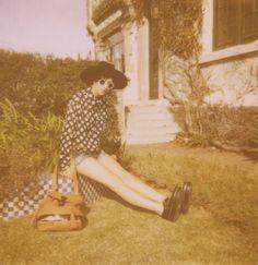 #fashion  #art  #polaroid  #gabrielarouiller  #flurmagazine  #photography