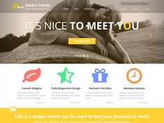 WordPress › Meris « responsive free theme
