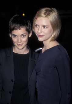 claire danes and winona ryder   Winona Ryder and Claire Danes