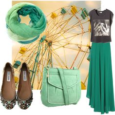 go green!, created by tantrika23 on Polyvore