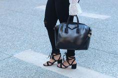 Two Peas in a Prada She Inside blouse, Givenchy Antigona, Ivanka Trump