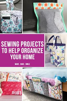 LOVING these sewing projects! So SIMPLE to make - especially the mesh bags for travelling!