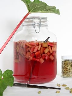 DIY Rhubarb Bitters Recipes — Dishmaps