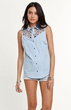 sleeveless kendall & kylie shirt