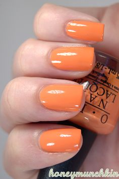 Swatches of OPI – So So Skullicious mini collection Orange Nail Polish, Opi Nail Polish, Opi Nails, Nail Polish Colors, Orange You Glad, Fancy Nails, Mani Pedi, Hair And Nails, Nail Art Designs