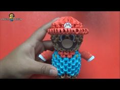 Origami 3D Mini Harley Quinn - YouTube