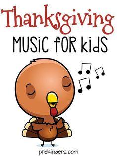 Thanksgiving Songs for Preschool Kids
