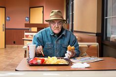 Photographer Nolan Conway has created a fantastic series of portraits of McDonalds diners, which were recently posted on the New York Times. What Nolan found, after visiting hundreds of their restaurants across America, was the diversity in the customers, how it's one of the only places where the poor dine alongside the rich, which you could argue happens almost nowhere else in the world.