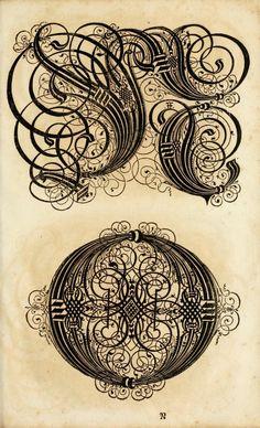Johann Hering, Kalligraphische Schriftvorlagen, Bamberg, 1626-1634