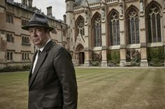"'Endeavour' star Roger Allam as D. Fred Thursday - Series 3 - ""I thought they wanted to get rid of me! Masterpiece Mystery, Endeavour Morse, Inspector Morse, Roger Allam, Shaun Evans, Good Looking Actors, Detective Shows, Tv Detectives, Filming Locations"