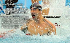 Swimming Funny, Michael Phelps, Swim Team, Health And Wellness, Good Things, Thoughts, Sport, Feelings