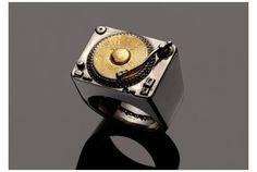 ターンテーブルの指輪