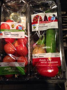 AH fresh couscous mix & soup mix Vegetable Packaging, Fruit Packaging, Glass Packaging, Cool Packaging, Brand Packaging, Packaging Design, Fruit And Veg, Fruits And Vegetables, Veggies