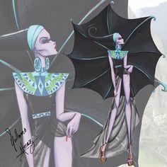 Yzma (Fashion by Guillermo_Meraz @Instagram) #TheEmperorsNewGroove