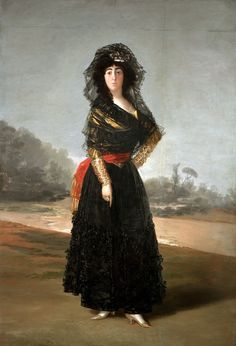 Francisco de Goya, The Duchess of Alba, 1797