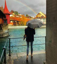 Visit Luzern, rainbow photo  http://www.instagram.com/glamthug