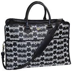 Buxton Zebra Printed Top Handle Weekender Bag w/ Strap