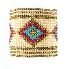 Native Seed Bead Bracelet