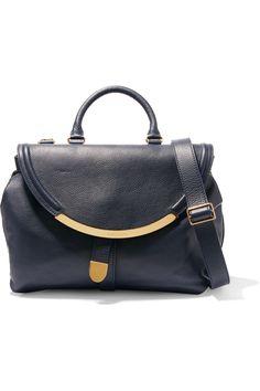 0b203eb20da3 SEE BY CHLOÉ Lizzie large textured-leather shoulder bag.  seebychloé  bags    · Large HandbagsChloe ...