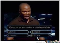 Doakes on millionaire. #dexter I laughed way more than I probably should have at this!