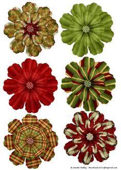 Karácsonyi Morn nyomtatható Flowers - CUP451669_1749 | Craftsuprint