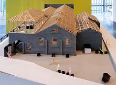 Water Architecture, Architecture Design, Model Sketch, 3d Modelle, Arch Model, Cafe Design, Pavilion, I Am Awesome, Cabin